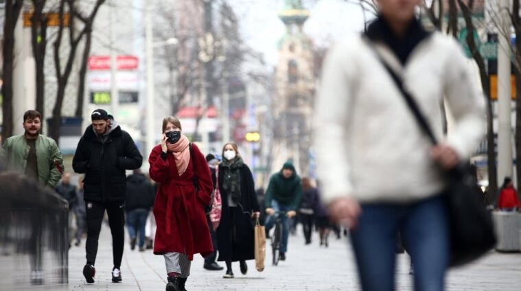 Украина заняла первое место в Европе по количеству новых больных коронавирусом
