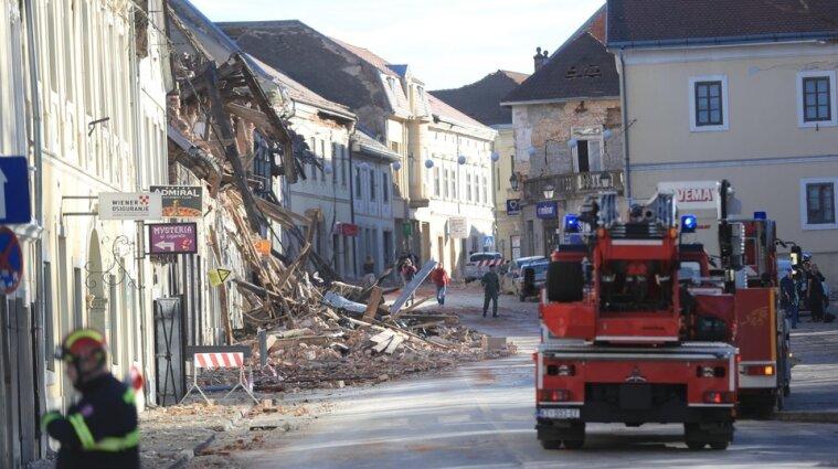 В Хорватии в результате мощного землетрясения погибли семь человек