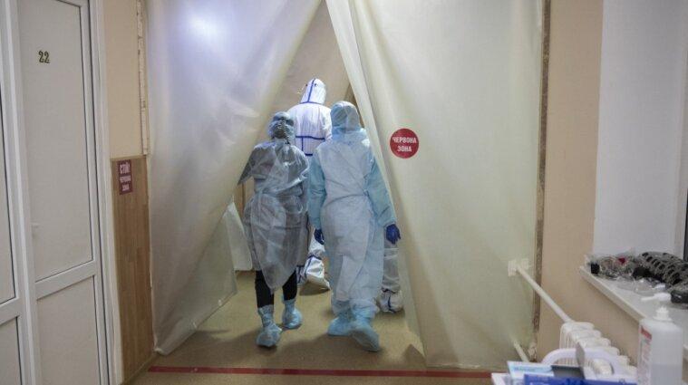 Одна из киевских больниц на 100% заполнена больными коронавирусом