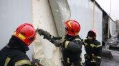 Пожар на хлебозаводе в Киеве