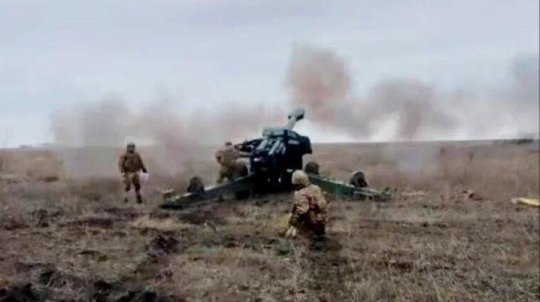Українські військові провели навчання біля адмінкордону Криму