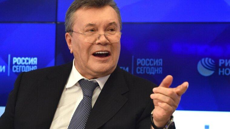 Суд в ЄС анулював рішення про замороження рахунків Януковича і його сина
