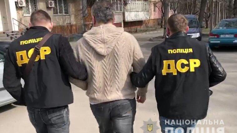 Російського кримінального авторитета затримали у Києві - відео