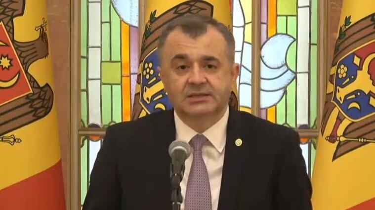 Прем'єр-міністр Молдови оголосив про відставку