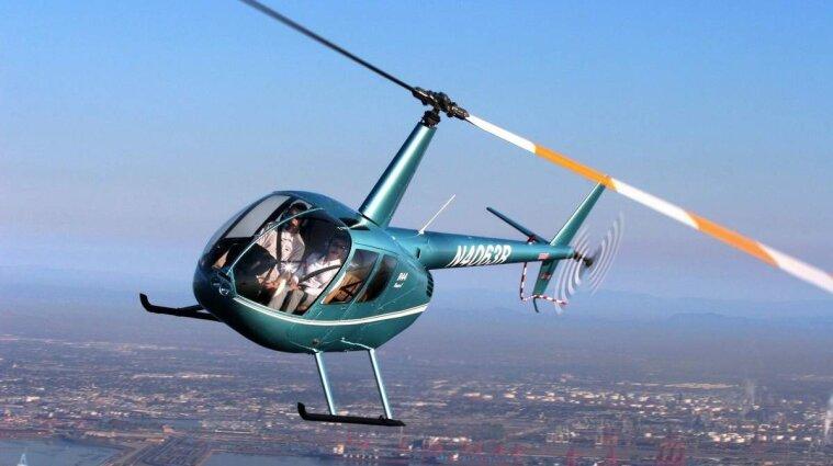 В Николаевской области упал вертолет, двое погибших
