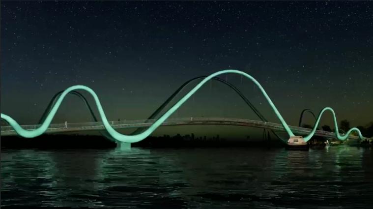 Кличко натякнув на новий пішохідний міст у Києві