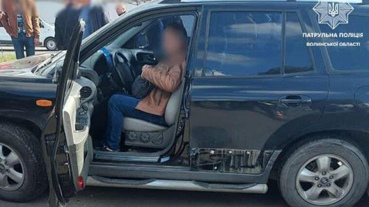 Пьяный водитель устроил массовое ДТП в Луцке
