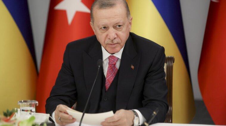 Эрдоган отреагировал на эскалацию на Востоке Украины