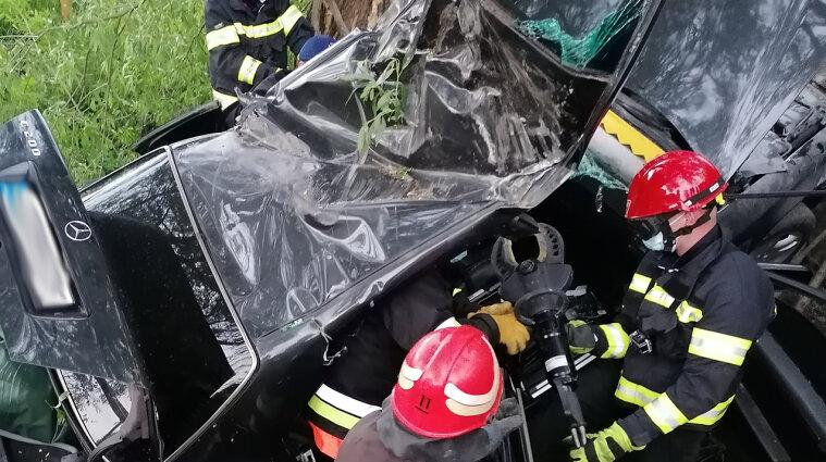 Четыре человека травмированы в ДТП в Хмельницкой области