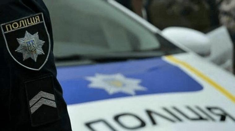 В Одесі поліційний автомобіль переїхав жінку на тротуарі