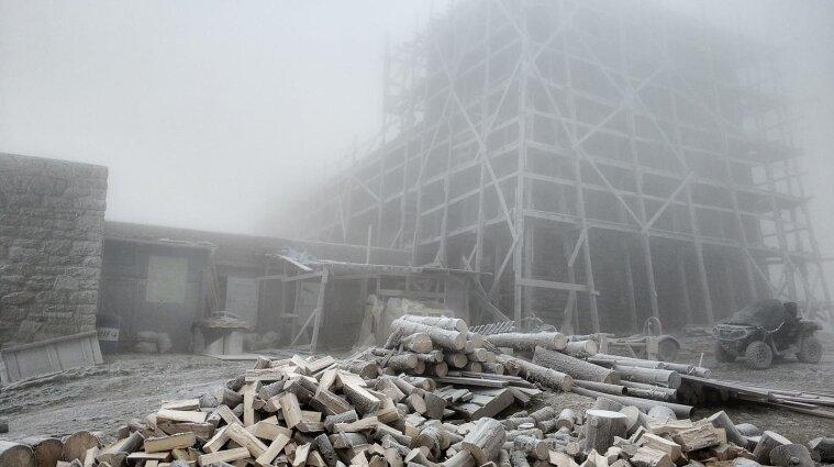 В Україні температура повітря опустилася до -9 градусів