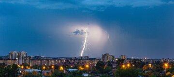 Штормове попередження оголошено в Україні: будуть грози та сильний вітер