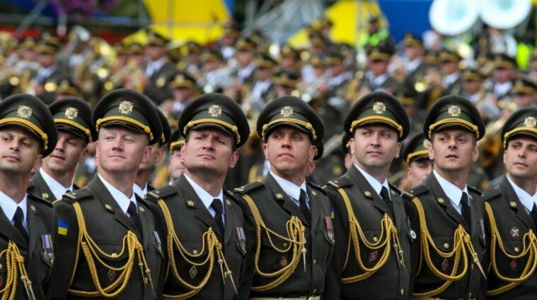 На Крещатике трижды будут репетировать военный парад ко Дню Независимости
