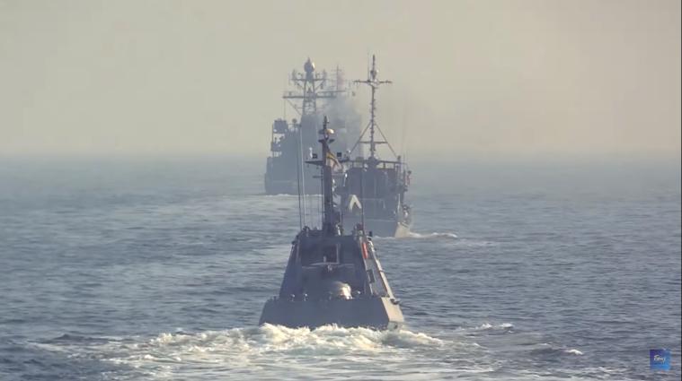 Україна спільно із Румунією провели навчання у Чорному морі