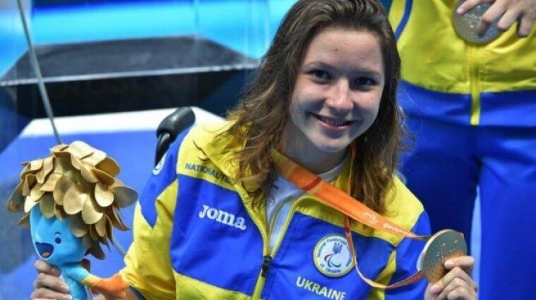 Перше золото Паралімпіади-2020 здобула українська плавчиня Єлизавета Мерешко