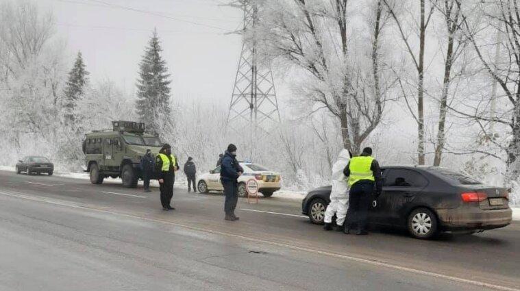 Карантинные блок-посты развернули в Ивано-Франковской области - фото