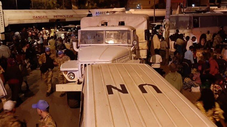 З Конго евакуювали українських миротворців