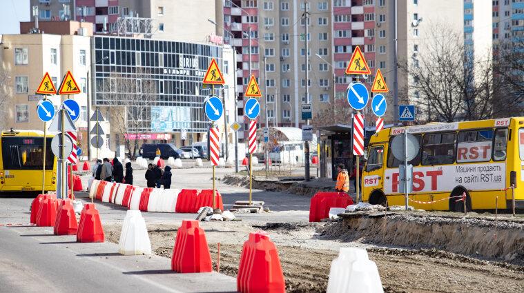 На подъезде к аэропорту Борисполь изменили движение транспорта