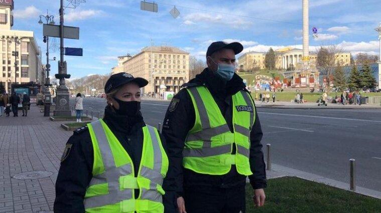 Полиция Киева зафиксировала почти 200 нарушений карантина