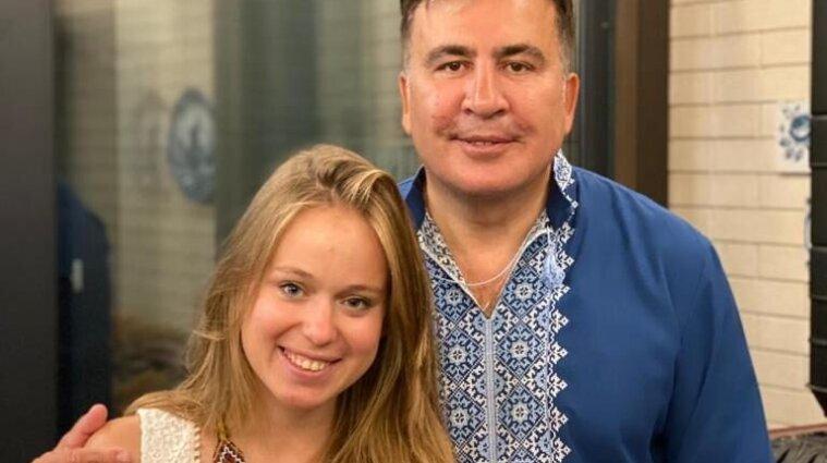 """""""Это большая история любви"""": Саакашвили рассказал об отношениях с Ясько"""