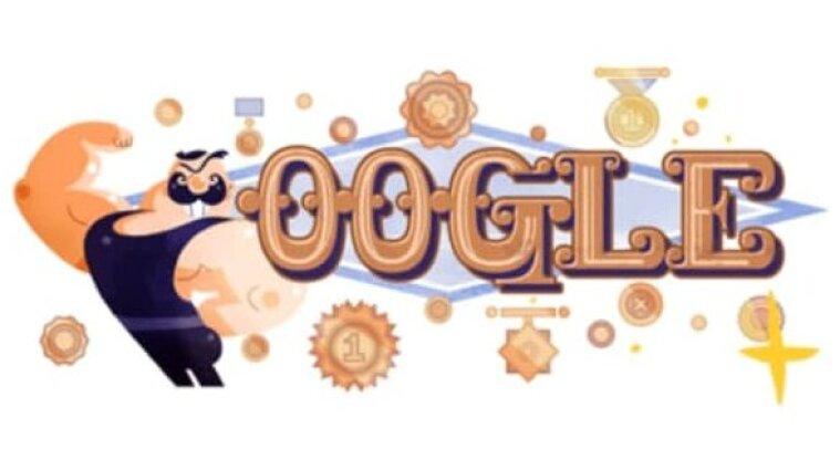 Google присвятив дудл Івану Піддубному - фото