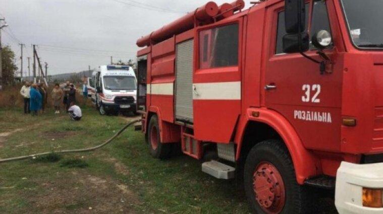 В Одесской области в доме сгорели младенец и маленький ребенок