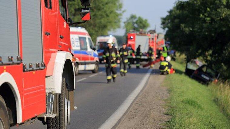 В Польше семеро украинцев пострадали в ДТП из-за пьяного водителя