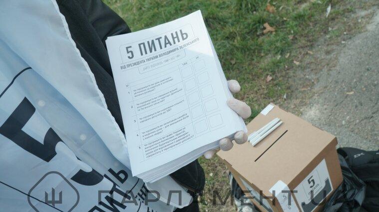 В опитуванні Зеленського взяло лише понад 15% українців