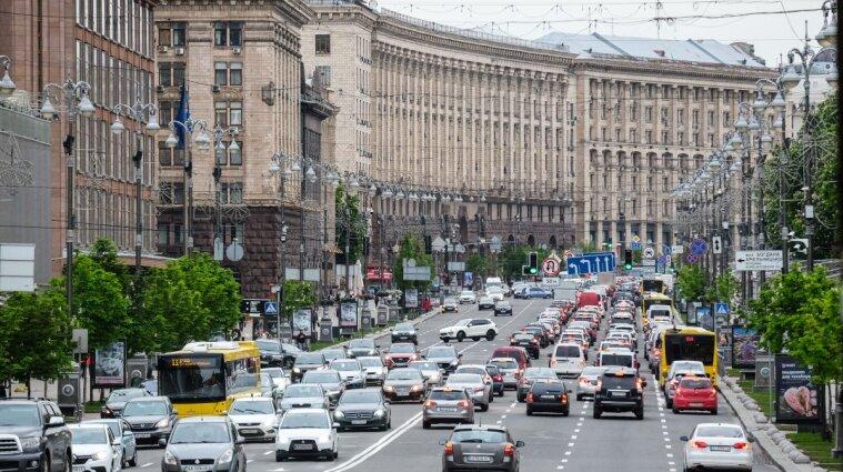 У центрі Києва на вихідні перекриють дороги: карта