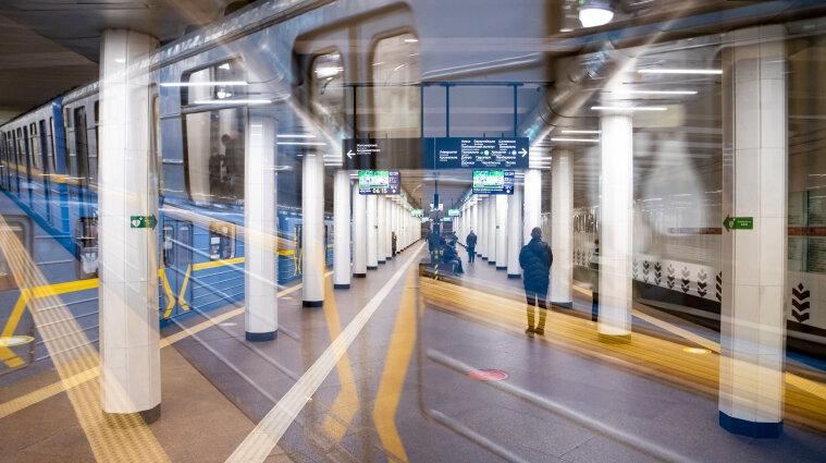 В Киеве не будет работать несколько станций метро из-за футбола