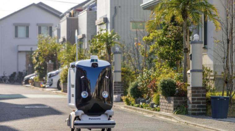 В Японии продукты из магазинов будет доставлять автономный робот