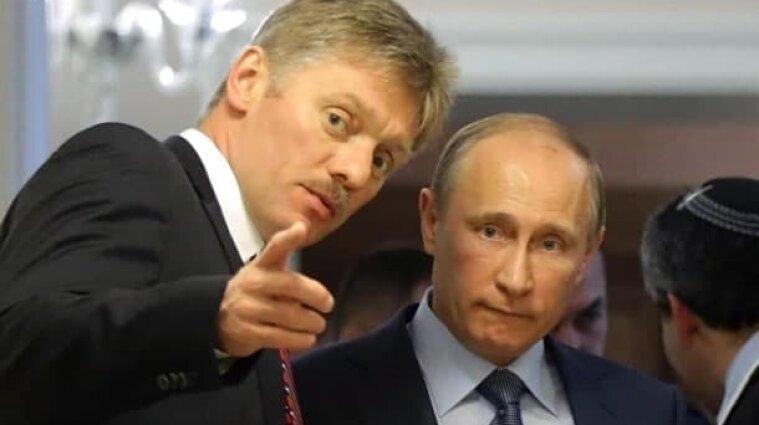 У Кремлі відповіли на пропозицію Зеленського зустрітися з Путіним на Донбасі