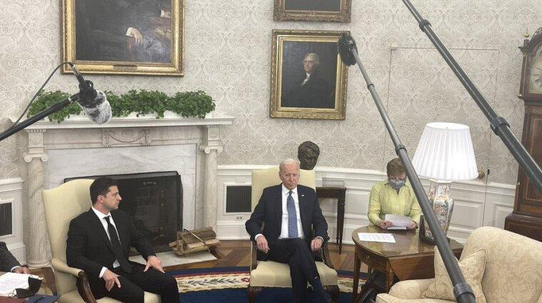 Первая встреча Зеленского и Байдена стартовала в Вашингтоне - видео