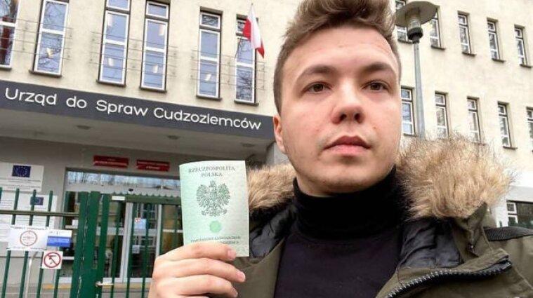 Посадка літака винищувачем: у Білорусі затримали дівчину Протасевича
