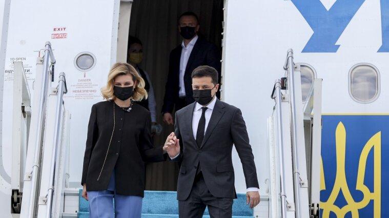 Зеленский с женой в пятницу полетят во Францию