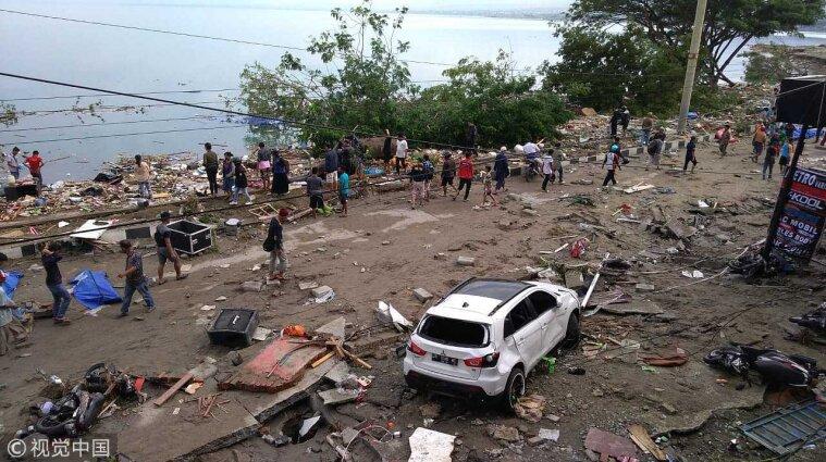 Внаслідок землетрусу в Індонезії загинуло 90 осіб