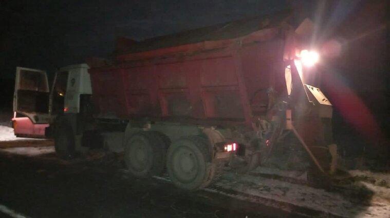 Во Львовской области мужчину задавил снегоуборочная машина