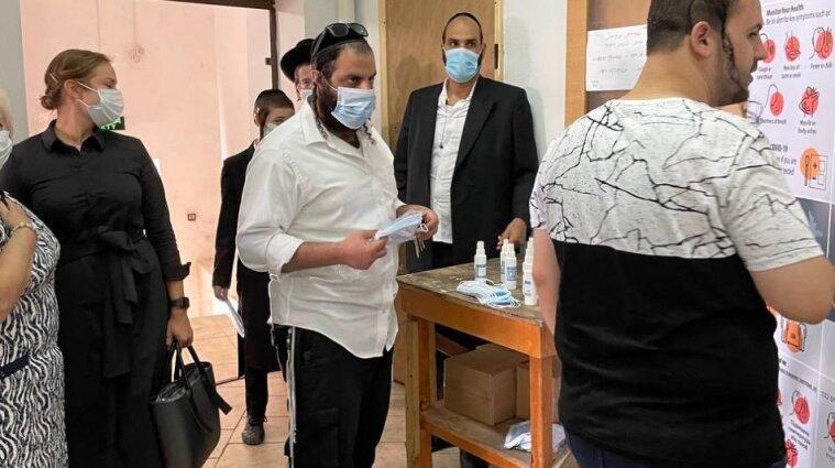 Рош га-Шана: для паломників закупили 200 тисяч масок та 20 тисяч антисептиків (фото)