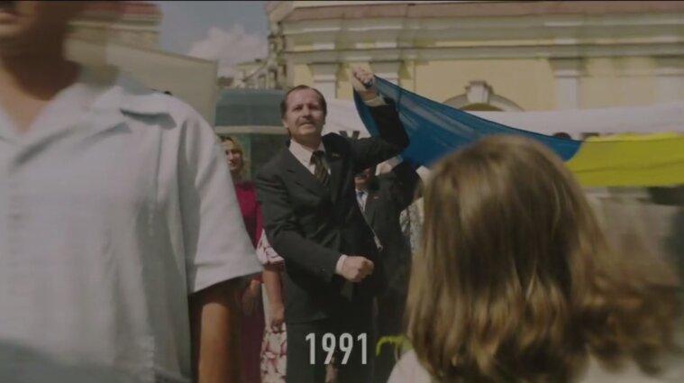 В сети появилось видео перформанса на параде ко Дню Независимости
