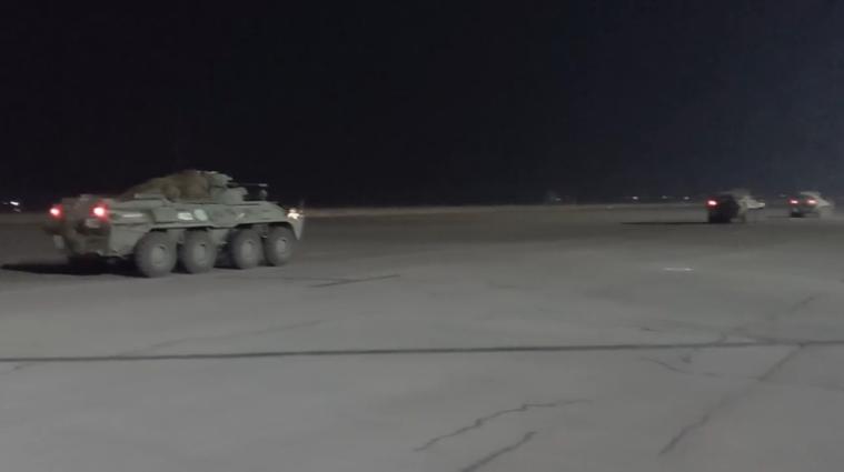 Військові з Росії направлені до району операції в Нагірному Карабасі- відео