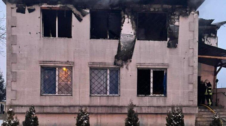 Пожежа у харківському будинку для літніх людей: назвали офіційну причину