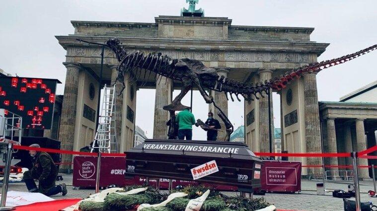 В Германии проходит анимационный протест против карантина