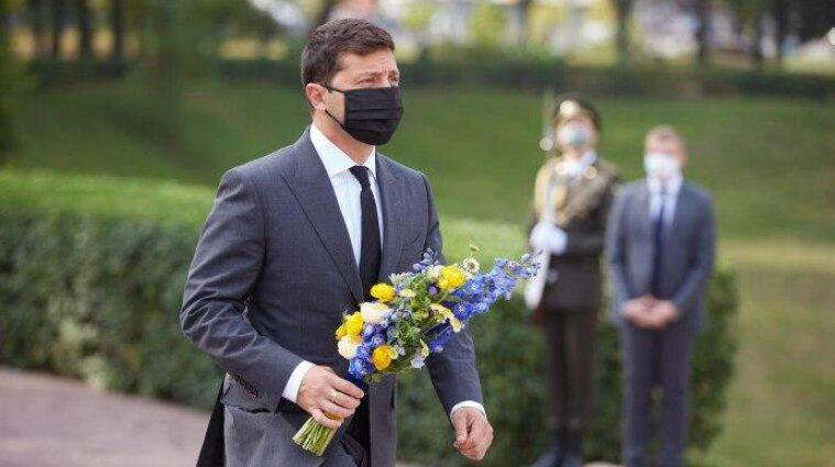 Зеленський вшанував пам'ять жертв трагедії Бабиного Яру