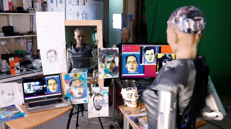 На аукционе автопортрет работа Софии продали за 688 тысяч долларов