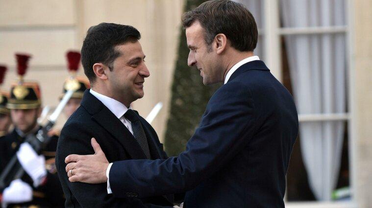 В Украину приедет президент Франции Макрон