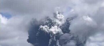 В Японии произошло извержение вулкана Асо - видео