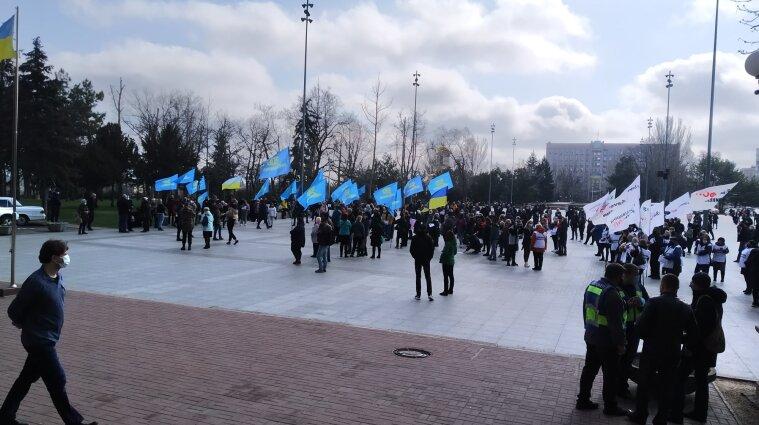 Протести у Миколаєві: мер запропонував підприємцям екскурсію до інфекційки