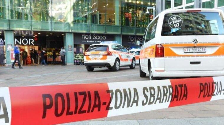 В Швейцарії жінка напала на двох людей у торговельному центрі