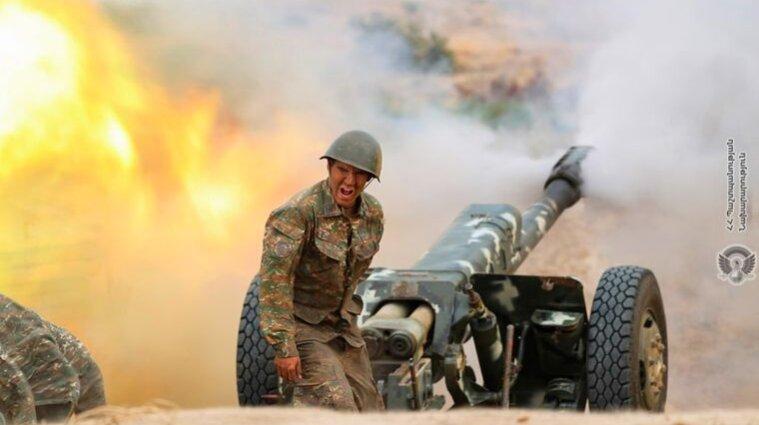 Армения нанесла ракетный удар по Азербайджану