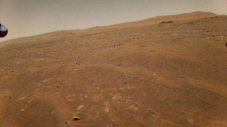 Гелікоптер NASA вшосте здійснив політ над Марсом